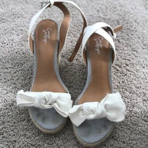 Shoes - Nautical wedges